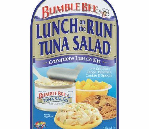 Bumble Bee Tuna Salad Cracker Kit