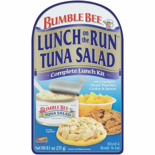 Lunch on the run tuna salad